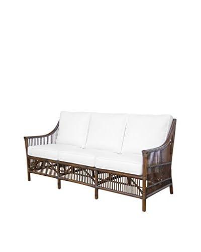 Panama Jack Bora Bora Sofa With Cushions, Antique
