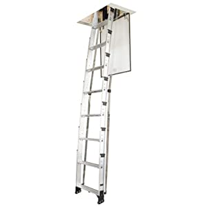 D Home Tool Werner Aa10 Attic Ladder