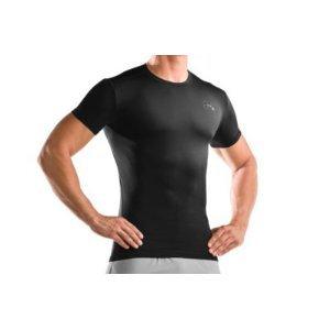 Sixs TS1 Mens Undergarment Short-Sleeve Shirts Black Carbon//X-Large