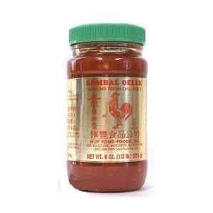 Huy Fong Sambal Oelek Ground Chili Paste - 8 oz x 2 bottles from Huy Fong