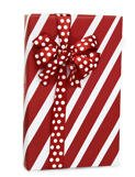 Red & White PEPPERMINT STRIPE Christmas Gift Wrap Wrapping Paper - 16ft Roll
