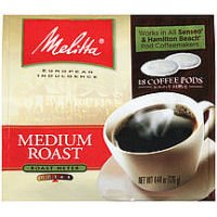 Medium Roast Soft Pod Coffee (Set Of 18)