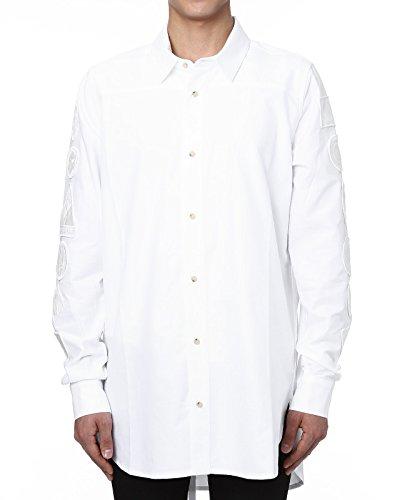 (オフホワイト) OFF-WHITE 長袖シャツ WHITE ホワイト S OMGA005S161110330101 [並行輸入品]
