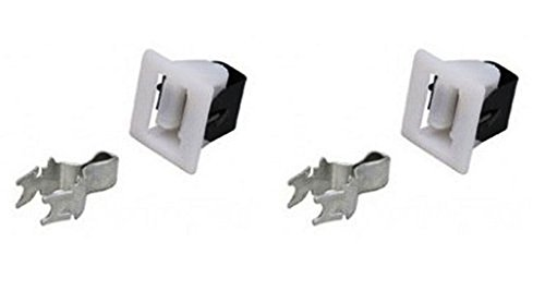 (Pack Of 2) Ge Dryer Door Catch / Latch Kit New Non-Oem back-613508