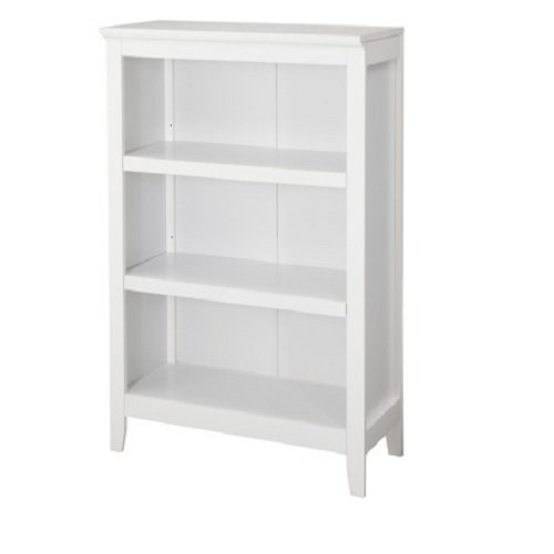 Threshold Carson 3-shelf Bookcase, White Finish