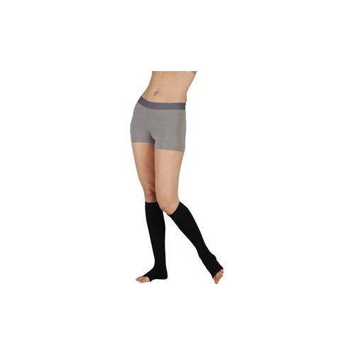 Juzo 18674 30-40 mmHg, Dynamic, Knee, OT, Short, Silicone, 5cm, Black - Size I (Color: black, Tamaño: I Short)
