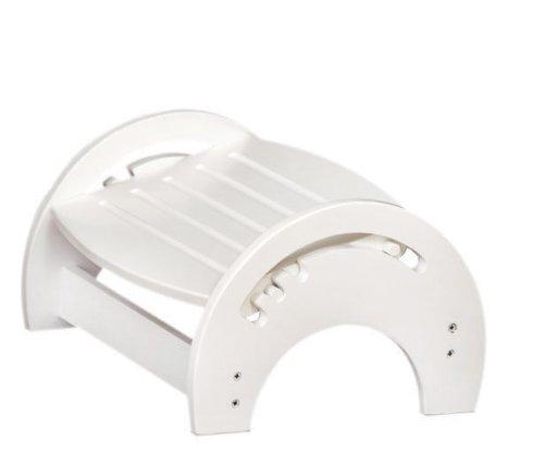 KidKraft Nursing Foot stool adjustable white