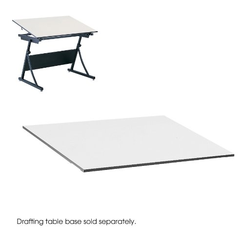 Safco(R) Planmaster Drafting Table Top, 3/4in.H x 60in.W x 37 1/2in.D, White