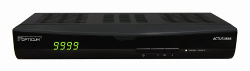 HD Actus mini HDTV-Satelliten-Receiver  PVR  DVB-S2  Linux  USB  schwarz