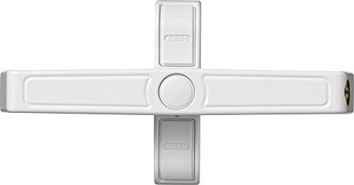 Fenster-Zusatzschloss 2520 W weiß für Doppelflügelfenster AL0125 gleichschließend 31757