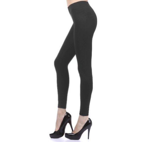 D&K Seamless Full Leggings One Size (Regular) Charcoal