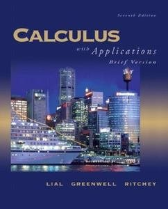 Calculus with Applications (2nd Custom Edition for BYU based on Ninth Edition)