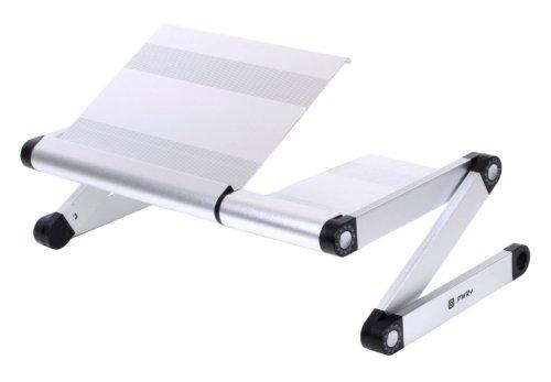 Stands, Holders & Car Mounts Pwr Flextop Portable Laptop Table Desk Folding Fully Adjustable Ergonomic Tablet Complete In Specifications Laptop & Desktop Accessories
