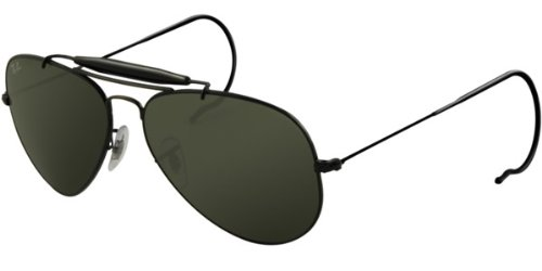 cheap ray ban wayfarer sunglasses sgrv  Ray Ban 3030 L950 Outdoorsman Aviator with Cable Temples Sunglasses
