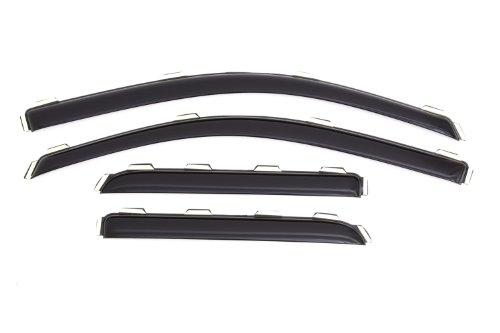 Auto Ventshade 194528  In-Channel Ventvisor Window Deflector for Chevy/GMC Double Cabs, 4 Piece (Vent Visors Chevy compare prices)