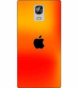 SMG Apple Logo Back Cover for Gionee Marathon M5 (Multi-coloured)
