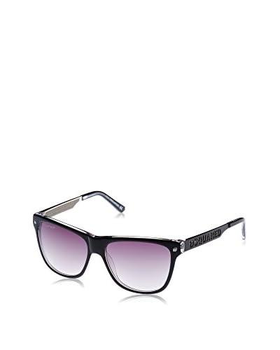 D Squared Gafas de Sol Dq0136 (55 mm) Negro