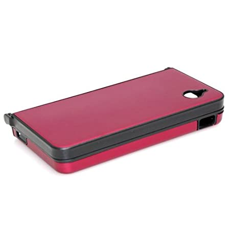 Red Alunminum Hard Case Cover For Nintendo NDSi XL
