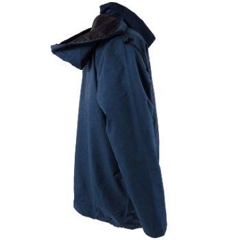 Mens Country Estate Navy Blenheim Waterproof Rain-Coat Mac Jacket