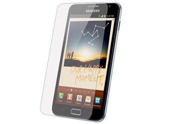 "1 X Displayschutzfolie ""ANTI GLARE"" Samsung Galaxy NOTE Displayschutz Samsung N7000 - ENTSPIEGELT -"
