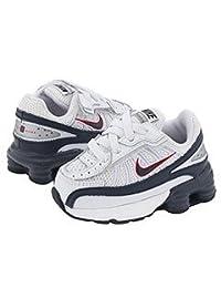 Nike Men's Huarache Strike Mid Metal White/Black 9.5 D - Medium
