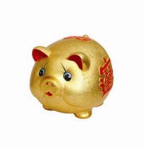 Piggy Bank - Ceramic - Small
