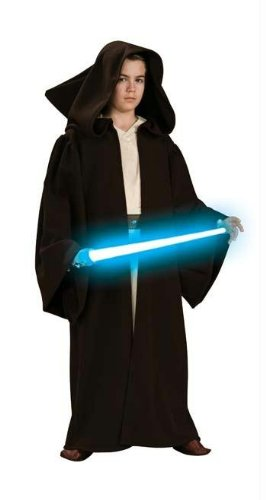 Costumes For All Occasions Ru883165Md Jedi Robe Super Dlx Chld Mediu