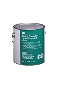 3M 06039 Finesse-it White Marine Paste Compound - 1 Gallon by 3M