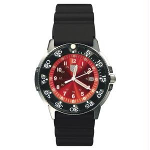 RAM Instrument Watch RAMW41200R Dive Watch, Red Face (41200 Series)
