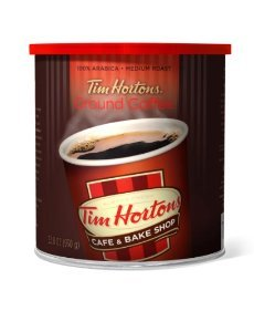 Tim Hortons Ground Coffee Can (Pack Of 2)