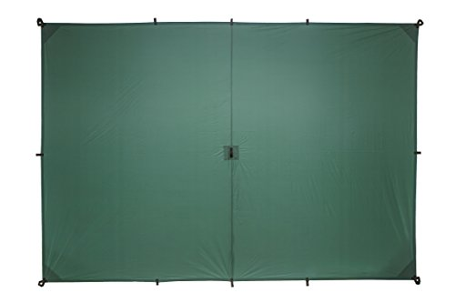 Aqua-Quest 'The Guide' Waterproof & Ultra Lightweight Silicone Sil Tarp - 2 x 3 Medium Green Model