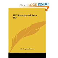 H.P. Blavatsky As I Knew Her