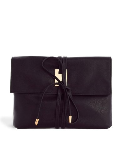 Amazon.co.jp: ASOS/ラップ/レザールック/クラッチバック ヌード ブラック【クラッチバッグ】【レディース バッグ】【レザー クラッチ】【セレブファッション】 (ヌード): 服&ファッション小物通販