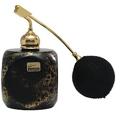 ブラック クリスタルアトマイザー フランス製 ブラッククリスタル香水瓶 660188