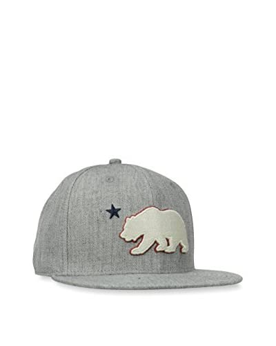 Levi's Men's Bear Snapback Hat, Heather Grey