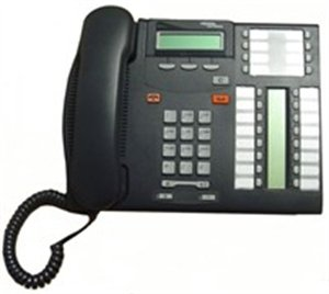 nortel-networks-norstar-t7316-executive-lcd-speakerphone-for-phone-system-nt8b27-used