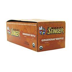 Honey Stinger Organic Stinger Waffles - 16 Pack - Gingersnap front-542258