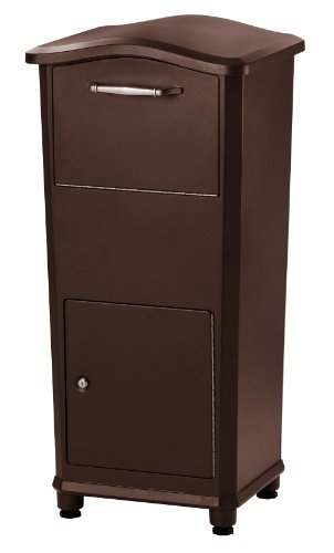 Architectural-Mailboxes-6900RZ-Elephantrunk-Parcel-Drop-Box-Oil-Rubbed-Bronze