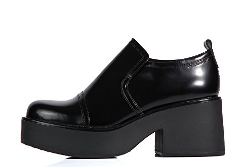 Vagabond Emma mocassin black - Scarpe mocassin suola platform