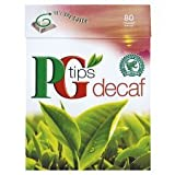 PG Tips Decaff Pyramid Teabags Pk80--PG Tips Decaf has the full flavour of traditional PG Tips, but without the caffeine - naturally rich in antioxidants, its good for you too.