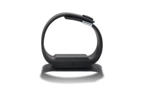 Mutewatch Unisex Digital Watch with Grey Dial Digital Display and Grey TPU Strap Charcoal Grey