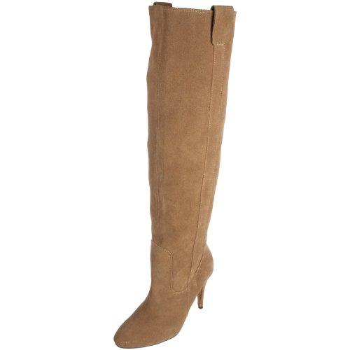 Diavolina Women's Uri Taupe Suede Knee High Boot DW10042 8 UK