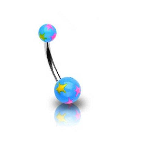 piercing-nombril-en-acier-chirurgical-boule-acrylique-bleu-et-taches-de-couleur
