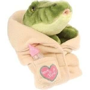 "Amazon.com: Binids Baby Crocodile Puppet 10"" by Wild"