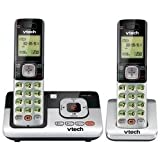 Vtech CS6829-2 DECT 6.0 Cordless Phone and Digital Answering System with 2 Handsets