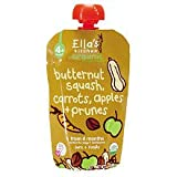 Ella's Kitchen, Organic Baby Food, Butternut Squash, Carrots, Apples + Prunes, 3.5 oz (99 g)