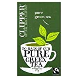 Clipper Fair Trade Pure Green Tea 50'S 100G