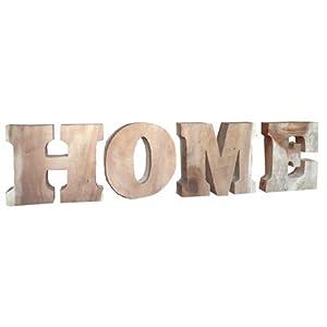 schriftzug home teakwurzel holzbuchstaben holz handarbeit massivholz. Black Bedroom Furniture Sets. Home Design Ideas