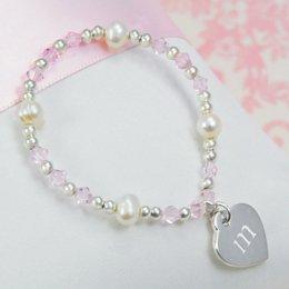 Best Seller Little Girl's Heart Charm Bracelet