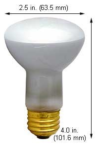 Incandescent Light Bulbs 17R20/Sp 6.3V Sewing Machine (Case Of 10)